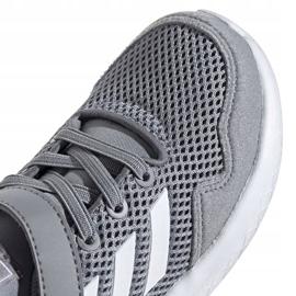 Buty adidas Archivo Jr EH0532 szare zielone 3