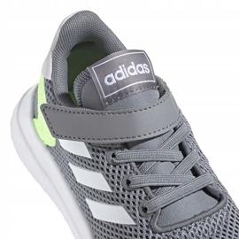 Buty adidas Archivo Jr EH0532 szare zielone 4