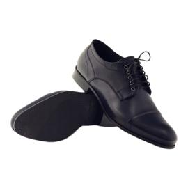 Pantofle Oksfordy Pilpol 1607 granatowe wielokolorowe 3