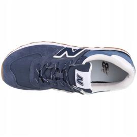 Buty New Balance U ML574GRE białe granatowe niebieskie 2