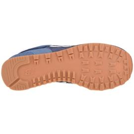 Buty New Balance U ML574GRE białe granatowe niebieskie 3