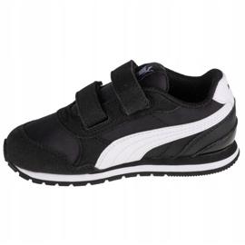 Buty Puma St Runner V2 Infants 365295 01 czarne wielokolorowe 1