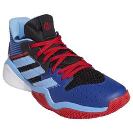 Buty do koszykówki adidas Harden Steapback M FW8482 wielokolorowe niebieskie 3