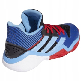 Buty do koszykówki adidas Harden Steapback M FW8482 wielokolorowe niebieskie 6
