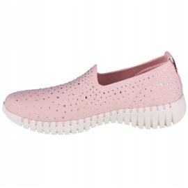 Buty Skechers Go Walk Smart-Bedazzle W 124053-LTPK różowe 1