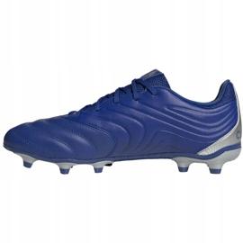 Buty piłkarskie adidas Copa 20.3 Fg M EH1500 niebieski, srebrny niebieskie 2