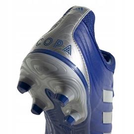 Buty piłkarskie adidas Copa 20.3 Fg M EH1500 niebieski, srebrny niebieskie 4