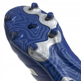 Buty piłkarskie adidas Copa 20.3 Fg M EH1500 niebieski, srebrny niebieskie 5