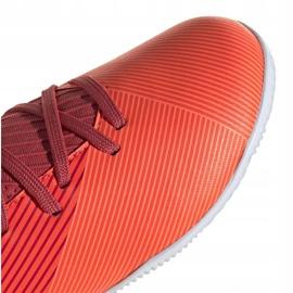 Buty piłkarskie adidas Nemeziz 19.3 In Jr EH0495 wielokolorowe czerwone 1
