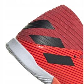 Buty piłkarskie adidas Nemeziz 19.3 In Jr EH0495 wielokolorowe czerwone 3