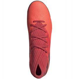 Buty piłkarskie adidas Nemeziz 19.3 Tf M EH0286 wielokolorowe czerwone 1