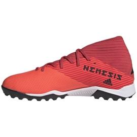 Buty piłkarskie adidas Nemeziz 19.3 Tf M EH0286 wielokolorowe czerwone 2