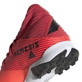 Buty piłkarskie adidas Nemeziz 19.3 Tf M EH0286 wielokolorowe czerwone 4