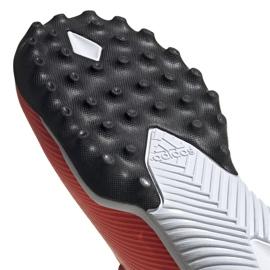 Buty piłkarskie adidas Nemeziz 19.3 Tf M EH0286 wielokolorowe czerwone 5