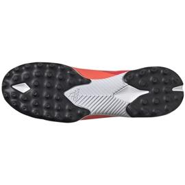 Buty piłkarskie adidas Nemeziz 19.3 Tf M EH0286 wielokolorowe czerwone 6