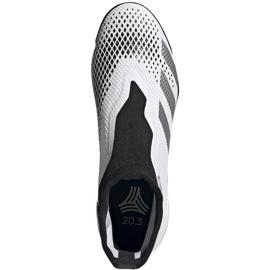 Buty piłkarskie adidas Predator 20.3 Ll Tf M FW9193 białe wielokolorowe 1