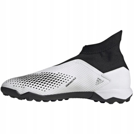 Buty piłkarskie adidas Predator 20.3 Ll Tf M FW9193 białe wielokolorowe 2