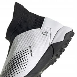 Buty piłkarskie adidas Predator 20.3 Ll Tf M FW9193 białe wielokolorowe 4