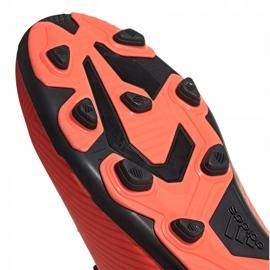 Buty piłkarskie adidas Nemeziz 19.4 FxG Jr EH0507 wielokolorowe pomarańczowe 5