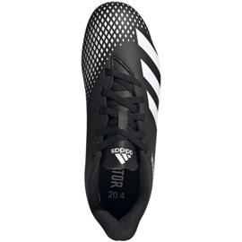 Buty piłkarskie adidas Predator 20.4 FxG Jr FW9221 czarne wielokolorowe 1
