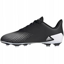 Buty piłkarskie adidas Predator 20.4 FxG Jr FW9221 czarne wielokolorowe 2
