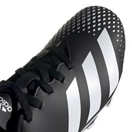 Buty piłkarskie adidas Predator 20.4 FxG Jr FW9221 czarne wielokolorowe 3
