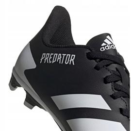 Buty piłkarskie adidas Predator 20.4 FxG Jr FW9221 czarne wielokolorowe 4