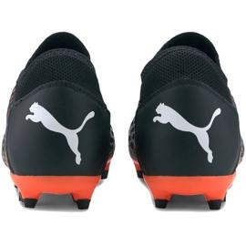 Buty piłkarskie Puma Future 6.4 Fg Ag M 106195 01 niebieski, czarny, pomarańczowy czarne 4