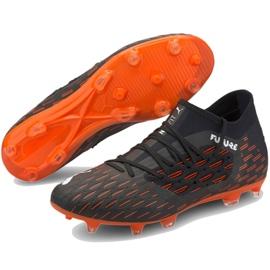 Buty piłkarskie Puma Future 6.3 Netfit Fg Ag M 106189 01 wielokolorowe czarne 3