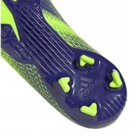 Buty piłkarskie adidas X Ghosted.3 Fg Jr EG8212 zielone zielone 5
