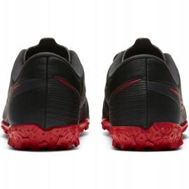 Buty piłkarskie Nike Mercurial Vapor 13 Academy Tf Jr AT8145 060 czarne wielokolorowe 4