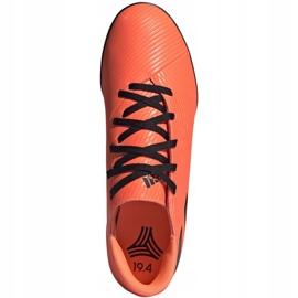 Buty piłkarskie adidas Nemeziz 19.4 Tf M EH0304 pomarańczowe wielokolorowe 1