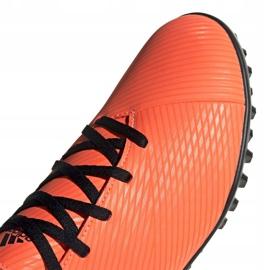 Buty piłkarskie adidas Nemeziz 19.4 Tf M EH0304 pomarańczowe wielokolorowe 3