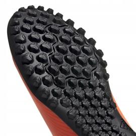 Buty piłkarskie adidas Nemeziz 19.4 Tf M EH0304 pomarańczowe wielokolorowe 5