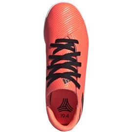 Buty piłkarskie adidas Nemeziz 19.4 In Jr EH0506 pomarańczowe wielokolorowe 1