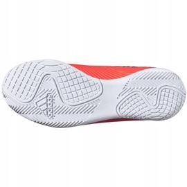 Buty piłkarskie adidas Nemeziz 19.4 In Jr EH0506 pomarańczowe wielokolorowe 4