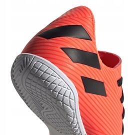 Buty piłkarskie adidas Nemeziz 19.4 In Jr EH0506 pomarańczowe wielokolorowe 6