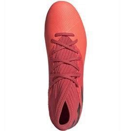 Buty piłkarskie adidas Nemeziz 19.3 Fg M EH0300 pomarańczowe wielokolorowe 1
