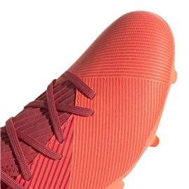 Buty piłkarskie adidas Nemeziz 19.3 Fg M EH0300 pomarańczowe wielokolorowe 3