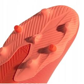Buty piłkarskie adidas Nemeziz 19.3 Fg M EH0300 pomarańczowe wielokolorowe 4