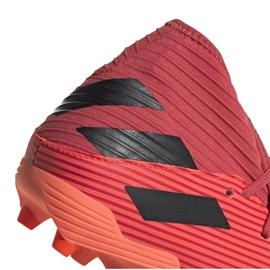 Buty piłkarskie adidas Nemeziz 19.3 Fg M EH0300 pomarańczowe wielokolorowe 5