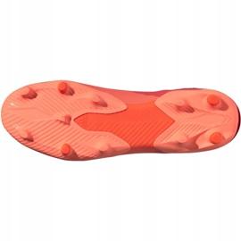Buty piłkarskie adidas Nemeziz 19.3 Fg M EH0300 pomarańczowe wielokolorowe 6