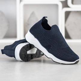 Goodin Wsuwane Sneakersy granatowe 4