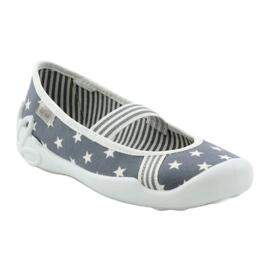 Befado obuwie dziecięce 193X064 szare 2