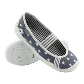 Befado obuwie dziecięce 193X064 szare 4