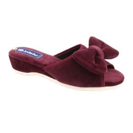 Befado Inblu obuwie damskie  155D119 czerwone 1