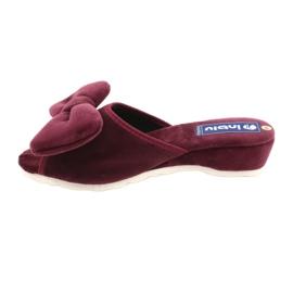Befado Inblu obuwie damskie  155D119 czerwone 2