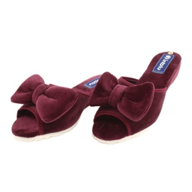 Befado Inblu obuwie damskie  155D119 czerwone 3