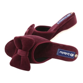 Befado Inblu obuwie damskie  155D119 czerwone 5