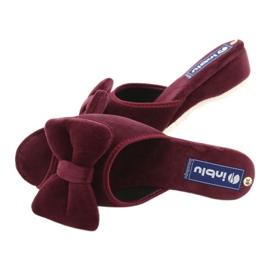 Inblu obuwie damskie  155D119 czerwone 5